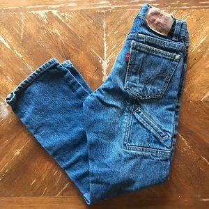 Boys Levi's 511 Painter Jeans skinny size 7 reg